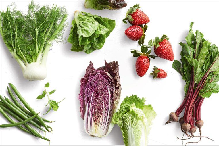 frutos y vegetales mas frescos