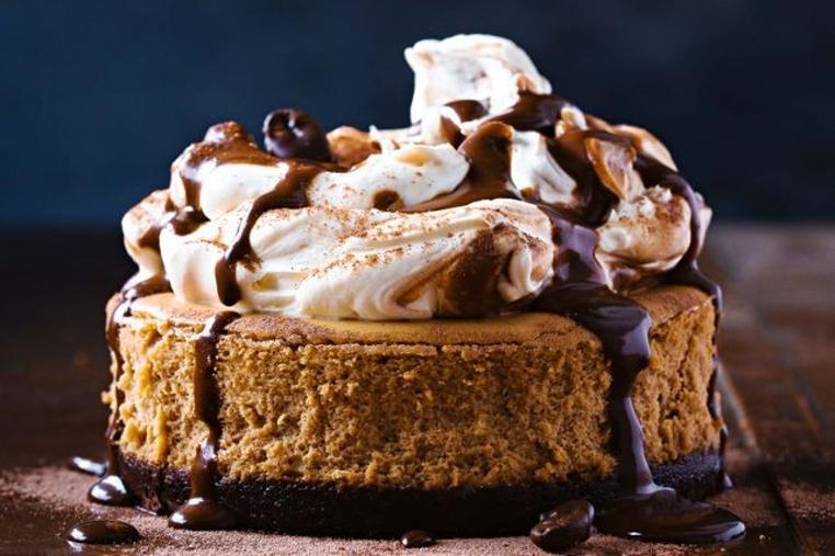 La receta de cheesecake de cappucino es perfecta para un fin de semana de relax.