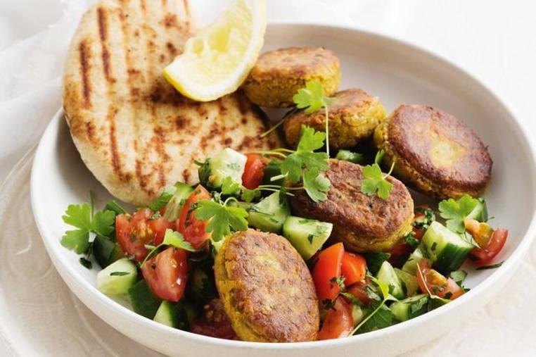 Toma nota y prepara este falafel saludable, hecho con calabaza