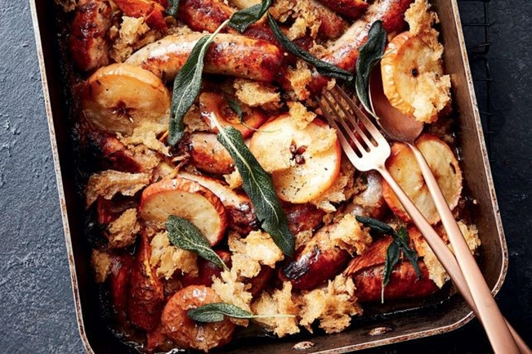 La receta de manzanas horneadas está lista en pocos minutos.