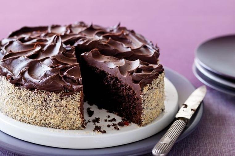 La receta de torta de cereza y chocolate es perfecta para la tarde.