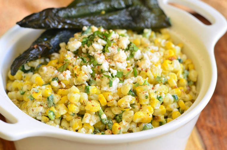 ensalada mexicana de maiz