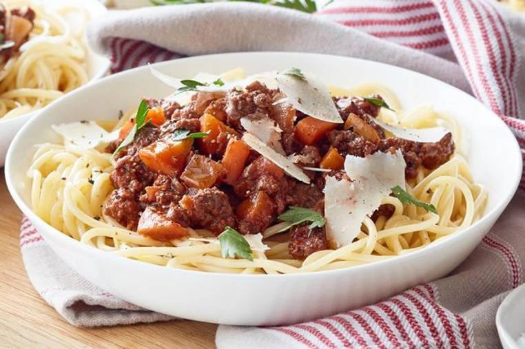 espaguetis carne de canguro