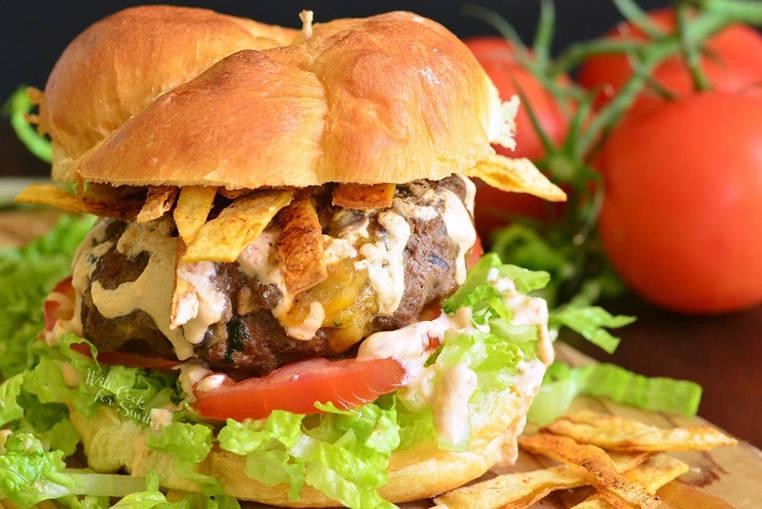 hamburguesa de taco