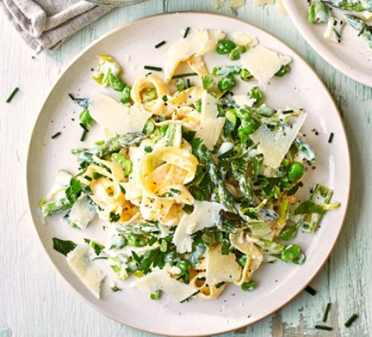 La receta de pasta con verduras es perfecta para el fin de semana.