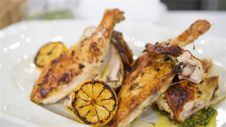 pollo a la parrilla con limon