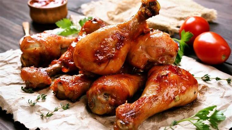 pollo en salsa barbecue