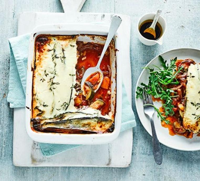 El Ratatouille con queso es una receta a tu alcance.