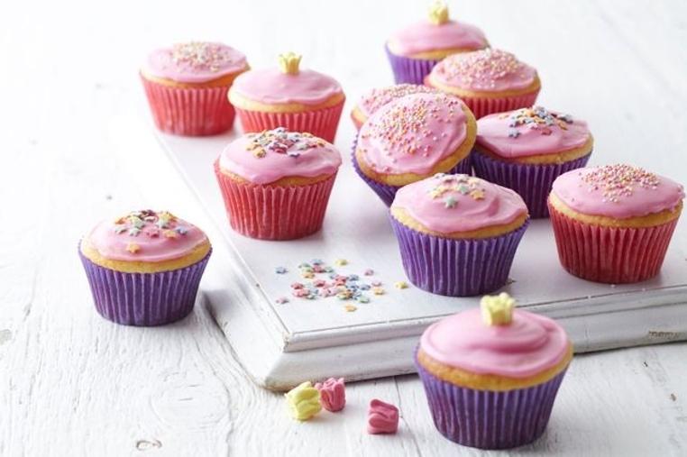 cupcakes de vainilla con aceite de oliva