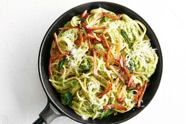 pasta de broccoli