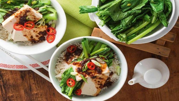 tofu al vapor