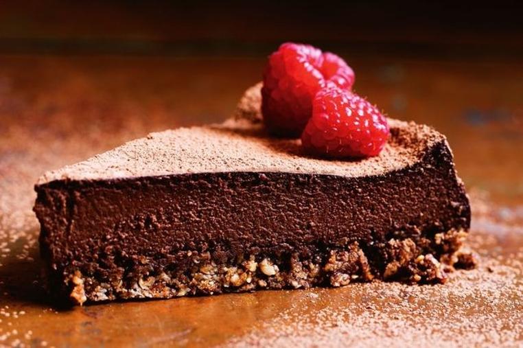 cheesecake de chocolate vegano
