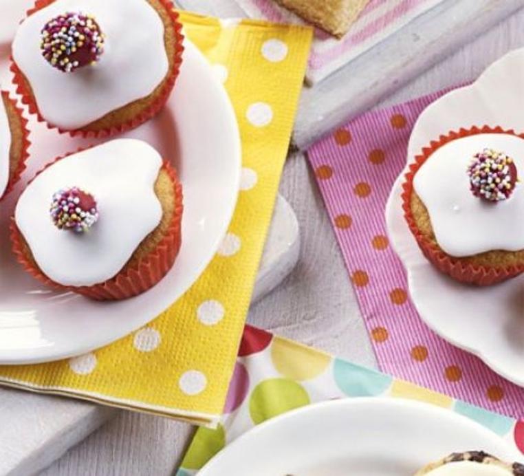 muffins de banana para niños