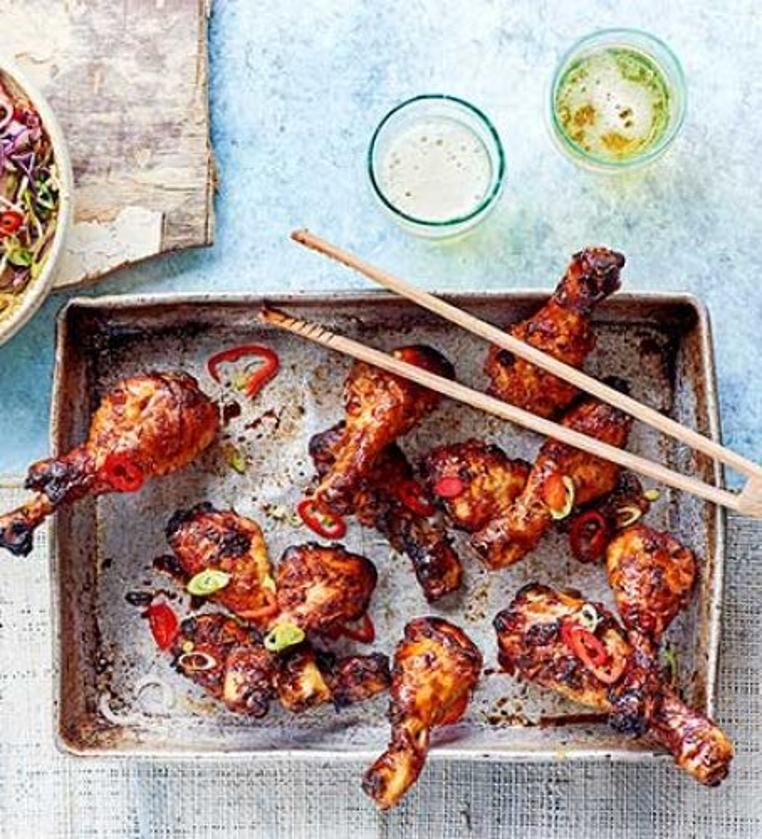 pollo con salsa coreana