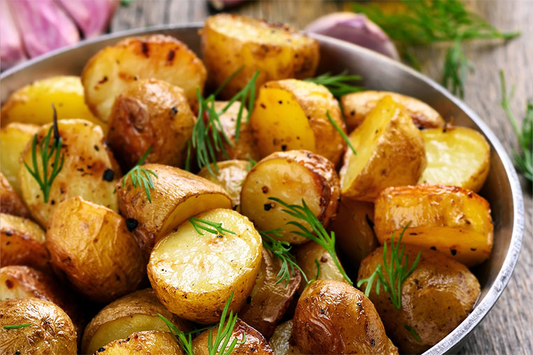 receta de papas al horno