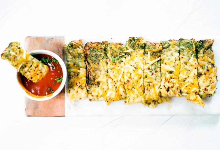 receta de pan de brócoli