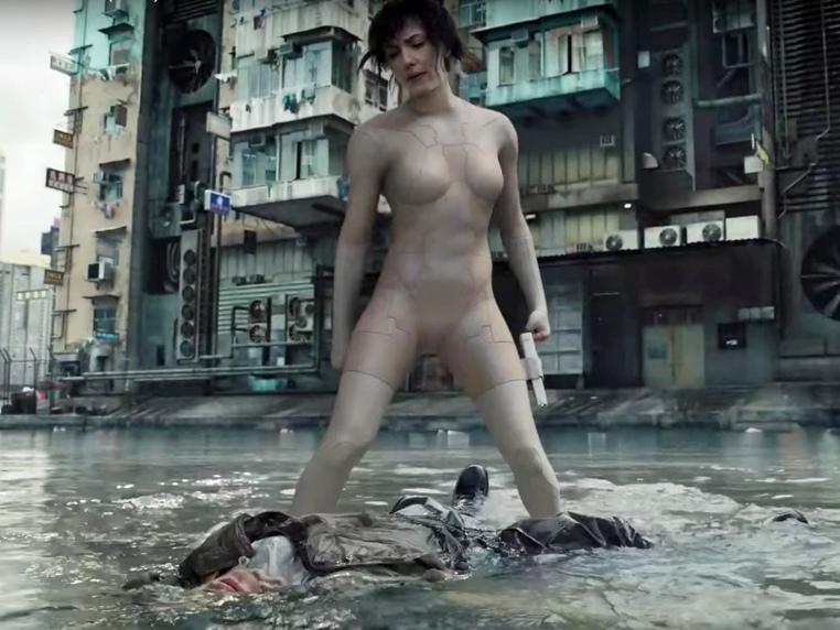 Ghost in the Shell live action Scarlett Johansson