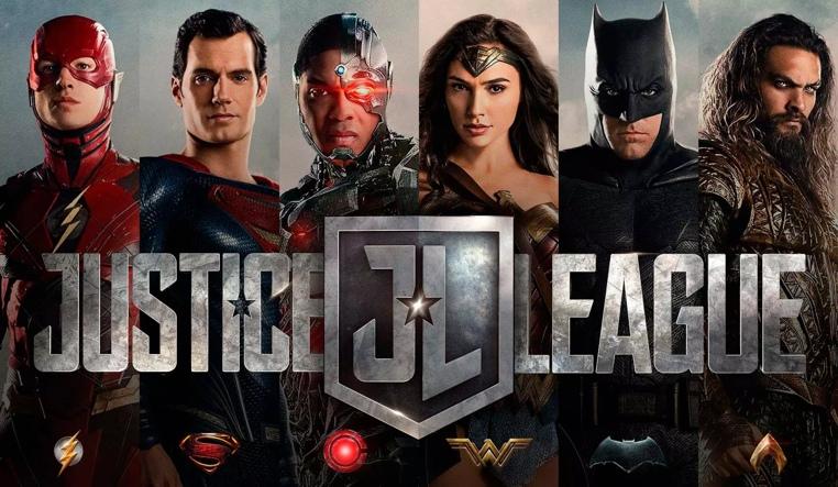 posters de la Liga de la Justicia