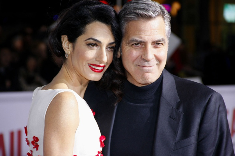 George Clooney y Amal Alamuddin