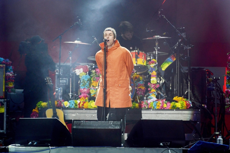 Liam Gallagher y Noel Gallagher