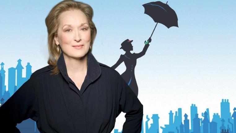 Meryl Streep en Mary Poppins