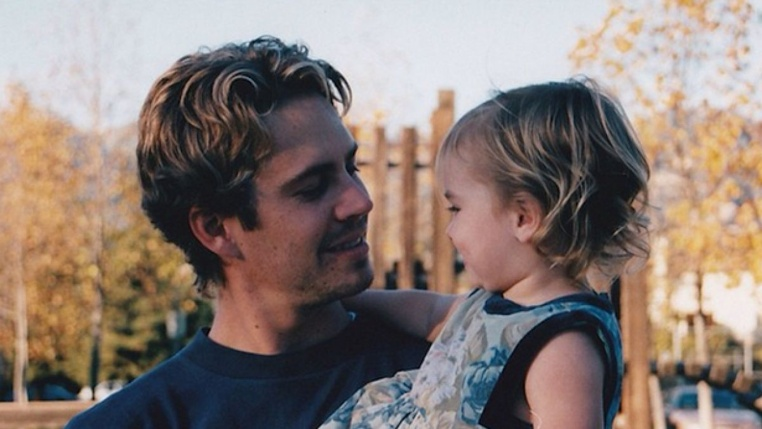 hija de Paul Walker