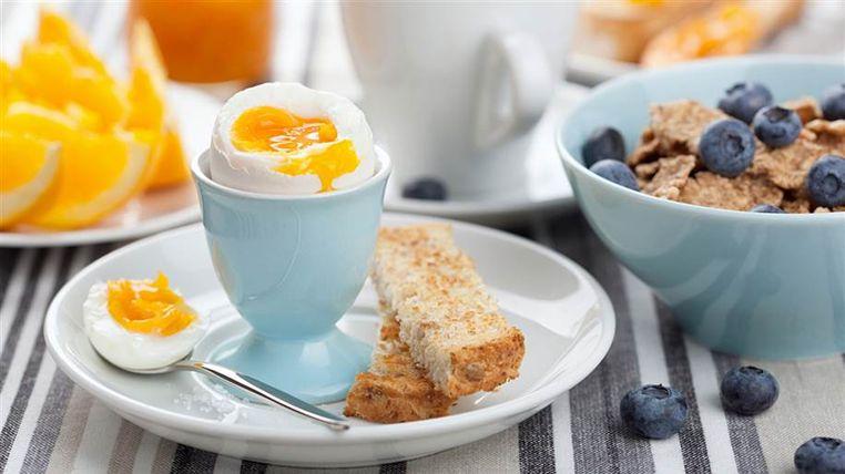 el desayuno está servido
