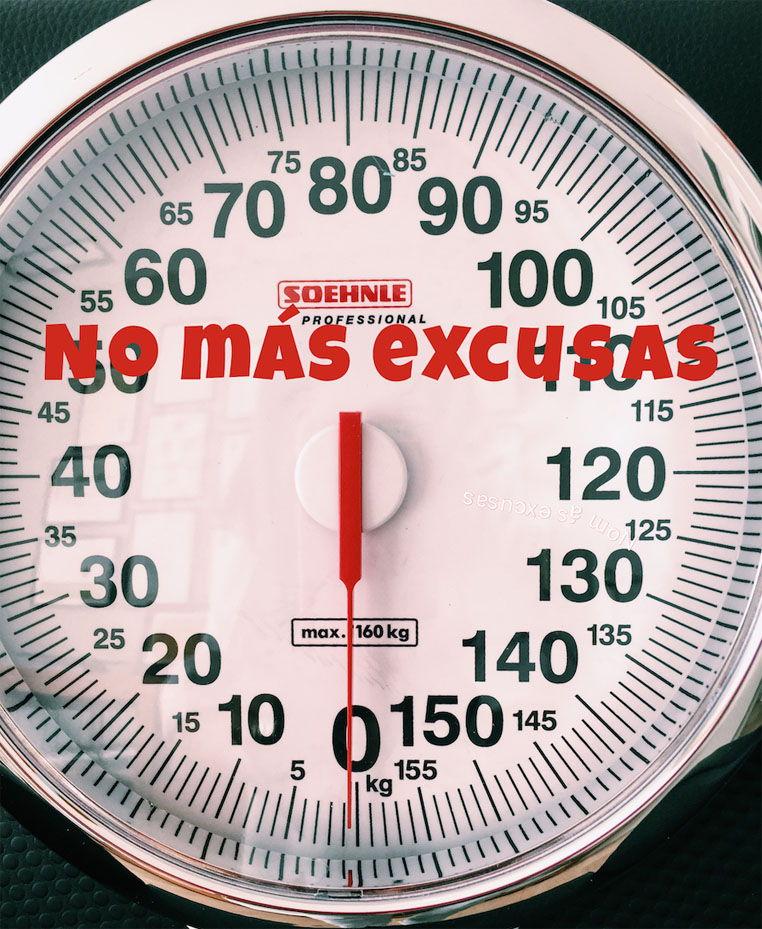 excusas de pérdida de peso