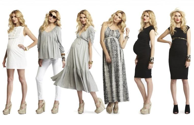 ropa de moda para el embarazo