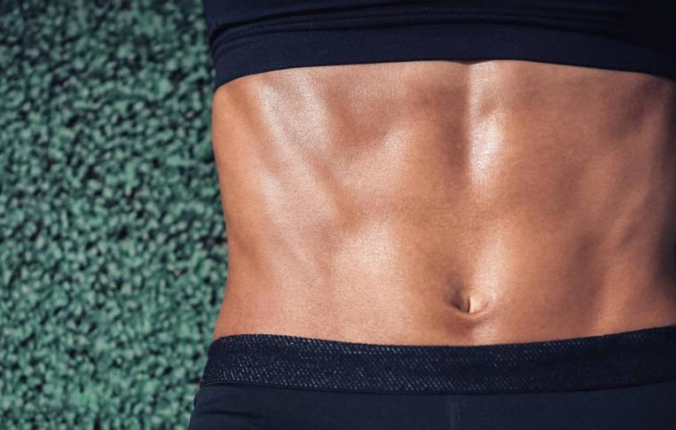 aplanar el abdomen