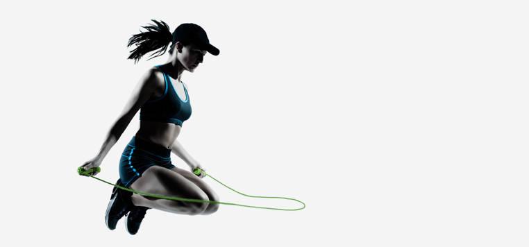 ejercicios de salto de cuerda