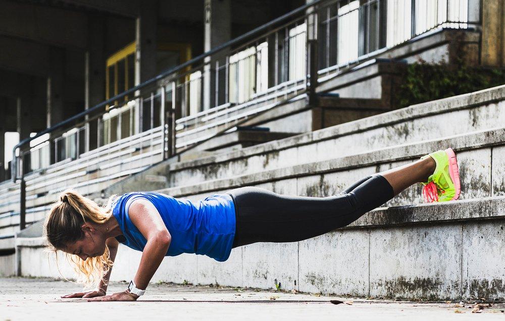 entrenamiento con pushup