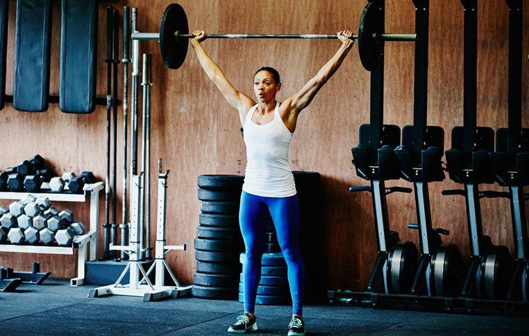 fuerza para levantar peso