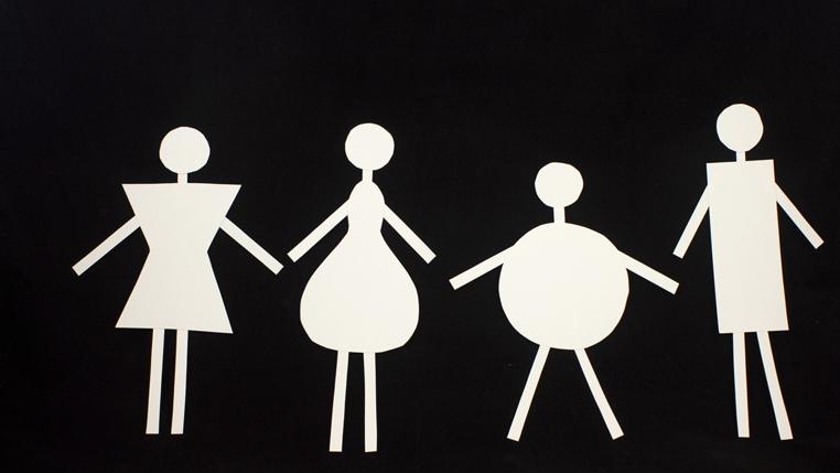 Tipos de cuerpo de mujeres