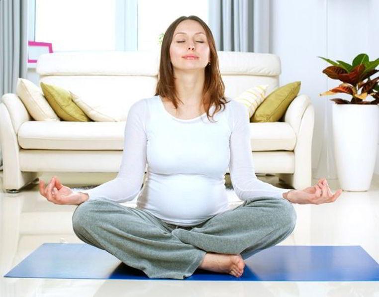 meditacion durante el embarazo