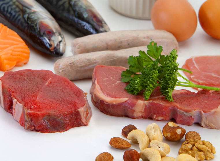 comer suficientes proteinas