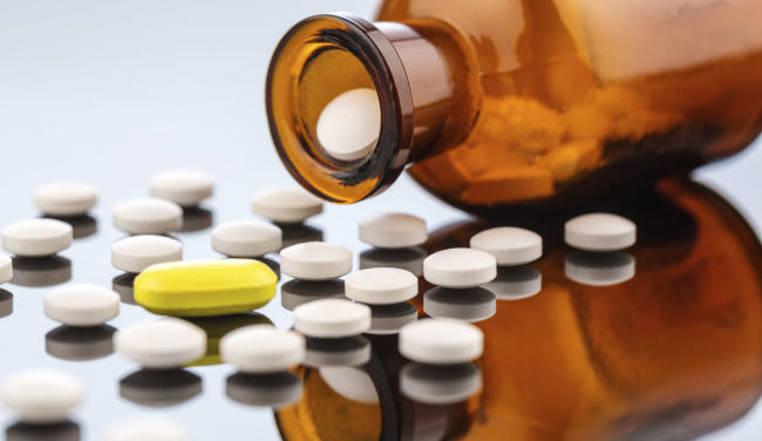lista de medicamentos adictivos