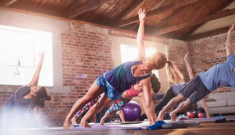 quemar calorias haciendo yoga