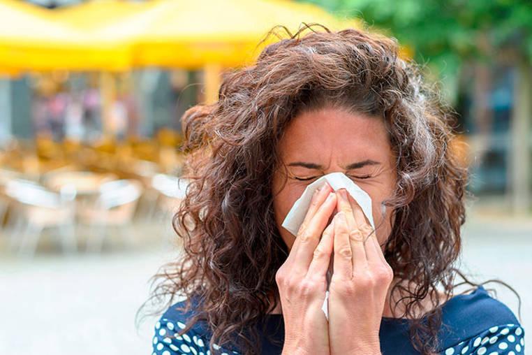 Que provocan las alergias respiratorias