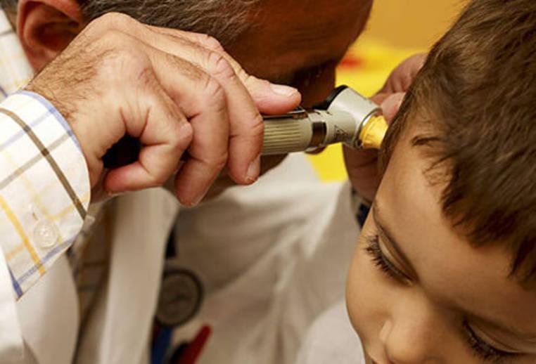 infeccion de oido en niños