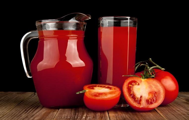 propiedades del jugo de tomate