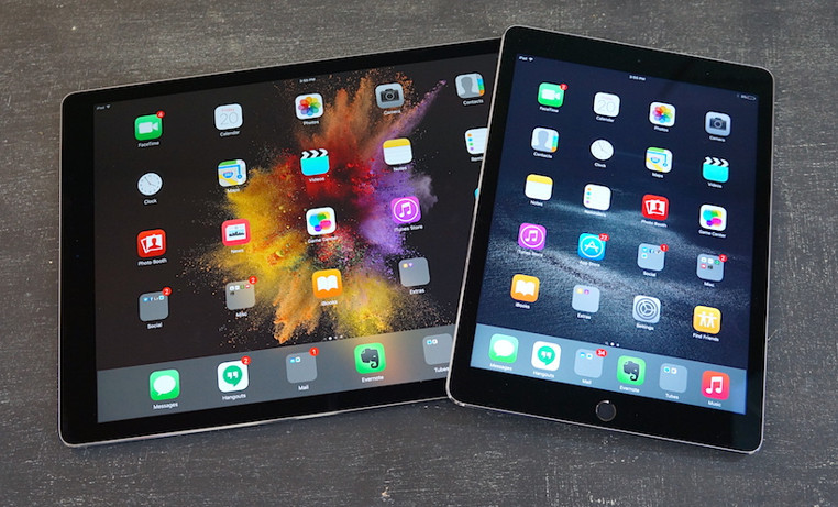 Diferencias entre la nueva iPad vs iPad Pro 2