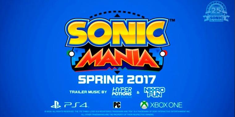 Sonic Mania 2017 es una remezcla de juegos viejos y nuevos de Sonic.