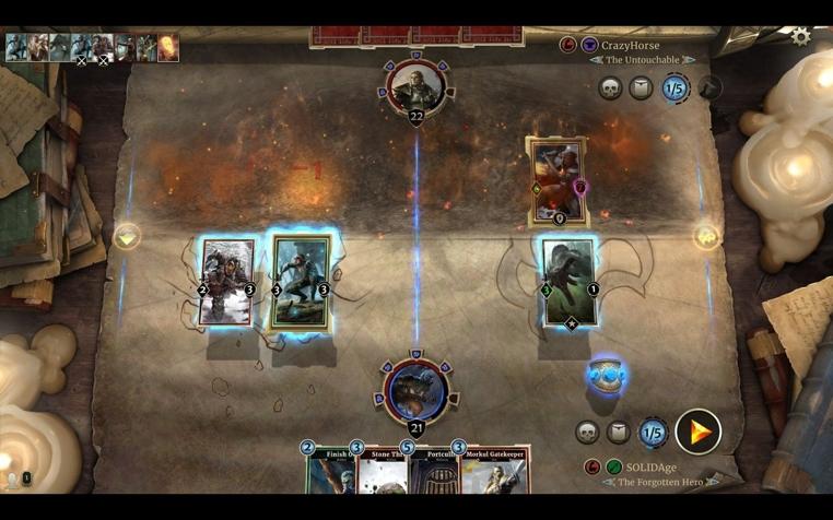El juego de cartas The Elder Scrolls online llegó a iPad.