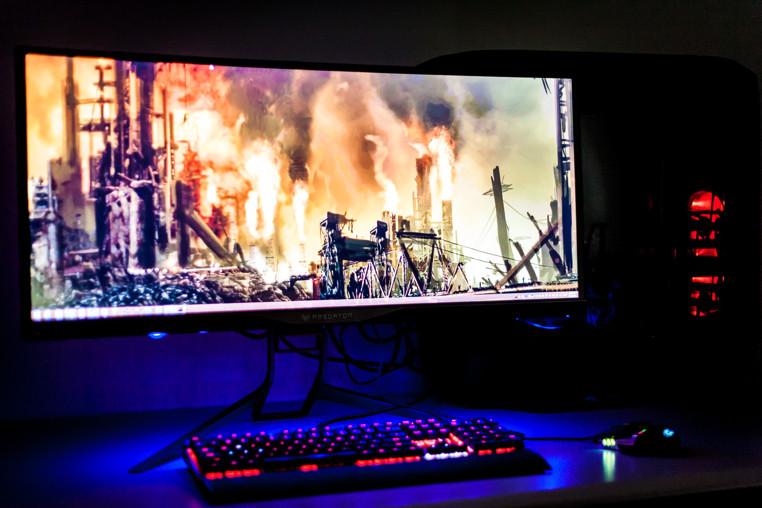 acer predator x34 el mejor monitor para jugadores profesionales