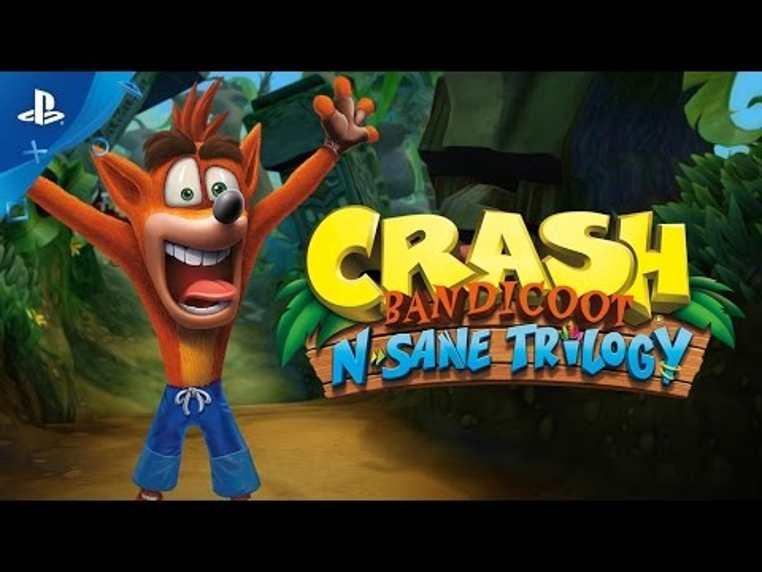 Para los jóvenes y adultos llegó la colección de crash bandicoot para Ps4. Sony remastirazá por completo el Crash Bandicoot N. Sane Trilogy para todo los usuarios.