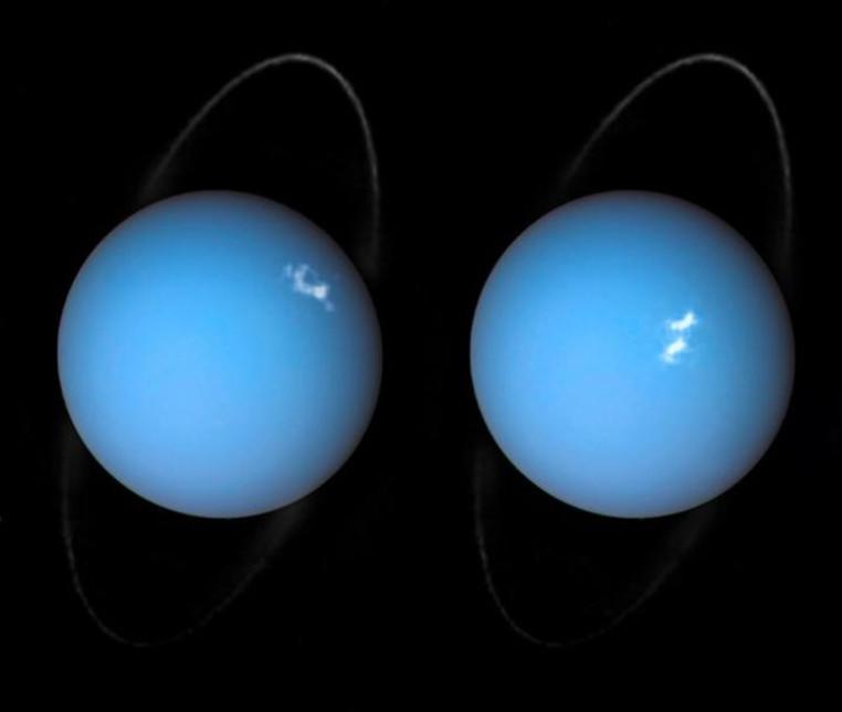 Auroras Urano