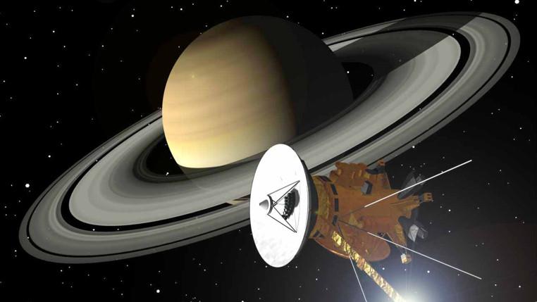La sonda espacial Cassini