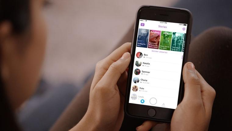 Los usuarios desde ya pueden buscar contenido en Snapchat Stories.