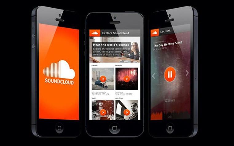 La aplicacion SoundCloud para iPhone ahora permite escuchar música en la tv.